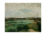 Marazion Marsh, 1923 Giclee Print by Harold Harvey