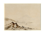 Mount Erebus from Hut Point, 1901-04 Giclee Print by Edward Adrian Wilson