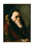 Portrait of an Old Man Giclee Print by Giandomenico Tiepolo