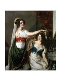 Preparing for a Fancy Dress Ball, 1833 Giclee Print by William Etty