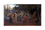 The Pied Piper of Hamelin Giclee Print by Elizabeth Adela Stanhope Forbes