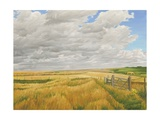 Summer on Cotley Hill, 2010 Giclee Print by Peter Breeden