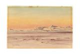 Antarctic Coastal Scene, 1901-04 Giclee Print by Edward Adrian Wilson