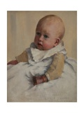 Crosbie as a Baby, 1887 Giclee Print by Norman Garstin