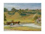 Winchelsea, 1909 Giclee Print by Albert Goodwin