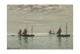 Home on the Morning Tide, c.1886 Giclee Print by Reginald Aspinwall