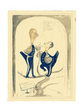 Harry Pennell and Dr. E.L.A. Atkinson, 1910-12 Giclee Print by Edward Adrian Wilson