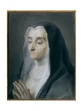 Portrait of Sister Maria Caterina Giclée-tryk af Rosalba Giovanna Carriera