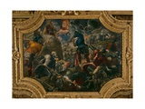 The Defence of Brescia Giclee Print by Jacopo Robusti Tintoretto