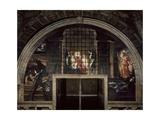 The Liberation of St. Peter, in the Stanza D'Eliodoro, 1512-14 Reproduction procédé giclée par  Raphael