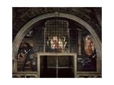 The Liberation of St. Peter, in the Stanza D'Eliodoro, 1512-14 Giclee Print by  Raphael