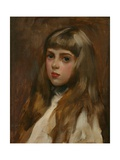 Portrait of Marjorie Armstrong, c.1895 Giclee Print by John da Costa