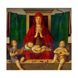 Madonna med barnet Giclée-tryk af Alvise Vivarini