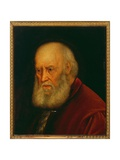 Portrait of the Lawyer Priamo Da Lezze Giclee Print by Jacopo Robusti Tintoretto