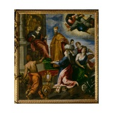 The Doge Francesco Venier Presented to Venice Giclee Print by  Palma Il Giovane