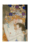 The Three Ages of Woman, 1905 (Detail) Giclée-Druck von Gustav Klimt