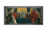 The Body of St. Mark Arrives in Venice Giclee Print by Sebastiano Ricci