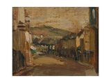 Market Jew Street Giclee Print by Norman Garstin