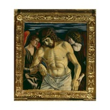 Dead Christ Between Two Angels, c.1464-68 Giclee Print by Giovanni Bellini