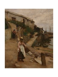 Newlyn Slip Giclee Print by William Banks Fortescue