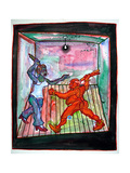 Punch and Judy - Domestic, 2008 Giclee Print by Phil Redford