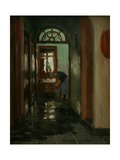 Saturday - an Interior View of Garstin's Home Giclee Print by Norman Garstin