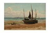 Fishing Boats in Mount's Bay Giclee Print by Henry Martin