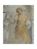 Figure of Virtue Giclee Print by Domenico Campagnola
