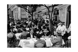 Outdoor Trattoria in Rome, c.1927 Giclee Print by Armando Bruni