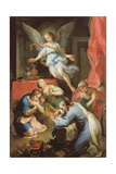 Archangel Raphael Makes Himself Known, 1733 Giclee Print by Pierre Parrocel