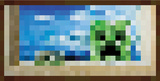 Minecraft - Window Kunstdrucke