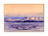 Snowy Ice Wasteland, 1901-04 Giclee Print by Edward Adrian Wilson