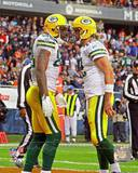 Green Bay Packers - Aaron Rodgers, Jermichael Finley Photo Photo