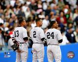 New York Yankees - Derek Jeter, Alex Rodriguez, Robinson Cano Photo Photo