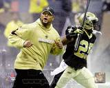 New Orleans Saints - Duece McAllister, Reggie Bush Photo Photo