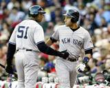 New York Yankees - Derek Jeter, Bernie Williams Photo Photo