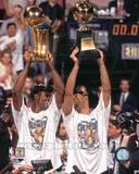 San Antonio Spurs - David Robinson, Tim Duncan Photo Photo