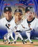 New York Yankees - Derek Jeter, Bernie Williams, Jason Giambi Photo Photo