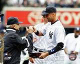 New York Yankees - Derek Jeter, Joe Girardi, Yogi Berra Photo Photo