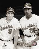 Baltimore Orioles - Brooks Robinson, Frank Robinson Photo Photo