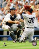 New York Yankees - David Cone, Joe Girardi Photo Photo