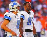 Detroit Lions - Calvin Johnson, Matthew Stafford Photo Photo