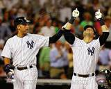 New York Yankees - Derek Jeter, Nick Swisher Photo Photo