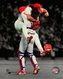 Philadelphia Phillies - Darren Daulton, Mitch Williams Photo Photo