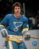 St Louis Blues - Bruce Affleck Photo Photo