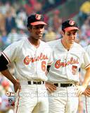 Baltimore Orioles - Brooks Robinson, Paul Blair Photo Photo