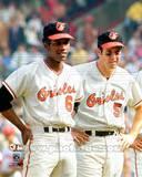 Baltimore Orioles - Brooks Robinson, Paul Blair Photo Photo