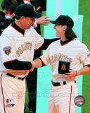 San Francisco Giants - Bruce Bochy, Tim Lincecum Photo Photo