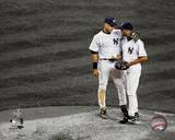 New York Yankees - Derek Jeter, Mariano Rivera Photo Photo