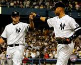 New York Yankees - Derek Jeter, Joba Chamberlain Photo Photo